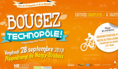 NB Tech, Nancy : bougez le Technopole (affiche)