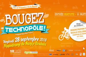 NB Tech, Nancy : bougez le Technopole (affiche)