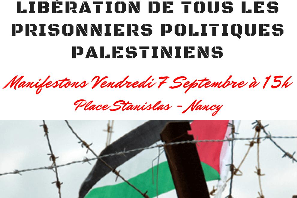 Manif pour les droits de l'Homme en Palestine