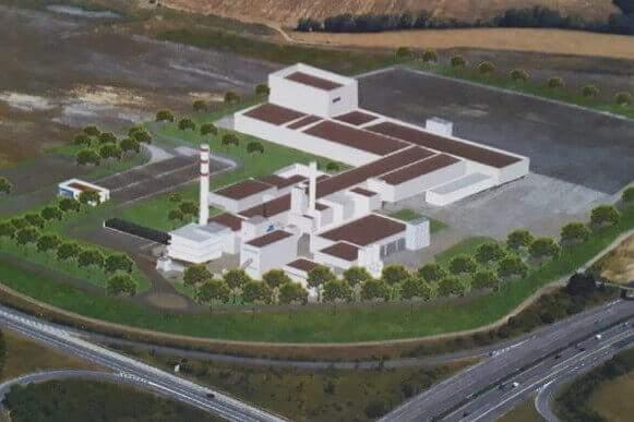 Projet de l'usine Knauf sur la Mégazone d'Illange-Bertrange (doc extrait du site Stop Knauf Illange)