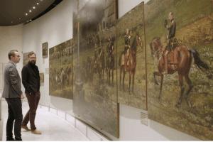 Certains fragments du Panorama de Rezonville sont conservés et exposés au Musée de la Guerre de 1870 et de l'Annexion, à Gravelotte (Moselle).