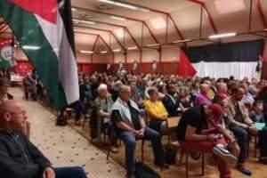 250 personnes à Tomblaine (54) pour soutenir la cause palestinienne (DR)