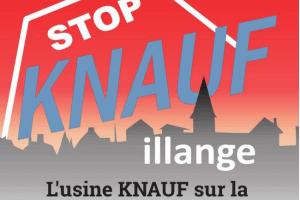 Les opposants ne désarment pas face aux élus favorables à la construction de l'usine (affiche)