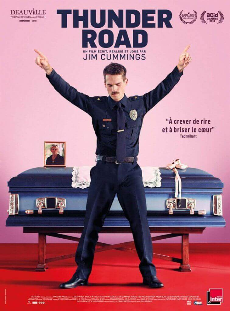 """Thunder Road"", film de Jim Cummings, Grand Prix de ce festival, sort en France ce mercredi 12 septembre."