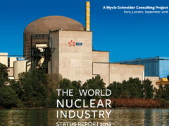 Rapport 2018 sur l'industrie nucléaire dans le monde (photo WNISR2018)