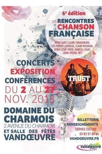 Vandoeuvre célèber la chanson française (affiche)