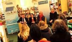 Conférence de presse de lancement de la quinzaine des librairies indépendantes (photo JL Stadler)