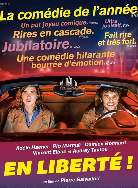 Adèle Haenel et Pio Marmaï jouent une inspectrice de police qui culpabilisent et un ex-taulard mal dans sa peau.