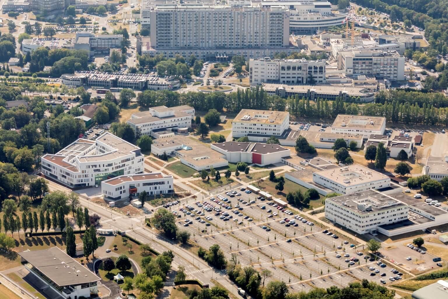 Le site de la faculté de médecine à Brabois change à la fois de dimension et de nom. (photo U.L.)