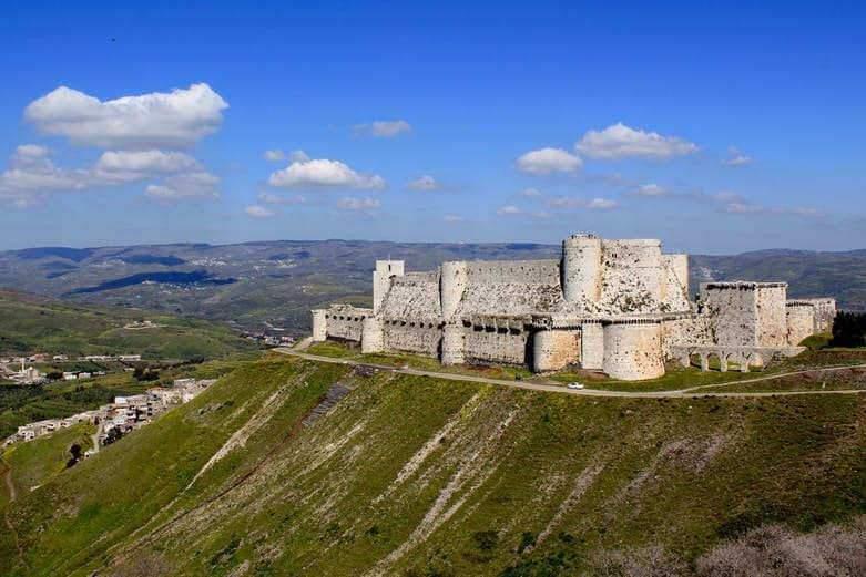 Actuel Moyen Âge : le Crac des Chevaliers, histoires d'un château fort