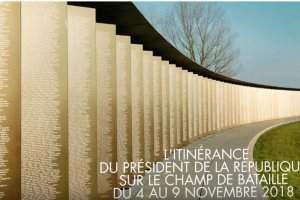 L'itinérance du président de la République lors des commémorations de l'Armistice (Capture Mission du Centenaire)