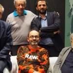 Le jury presse était composé (de gauche à droite) de Patrick Tardit (infodujour.fr), Jean-Pierre Lehousse (Le Républicain Lorrain), Xavier Leherpeur (France Inter, La Septième Obsession, et président du jury), Ahmad Basha (Wahed Magazine), et François Zabbal (ancien rédacteur en chef du magazine Qatara).