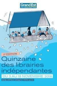 Quinzaine des librairies indépendantes (affiche)