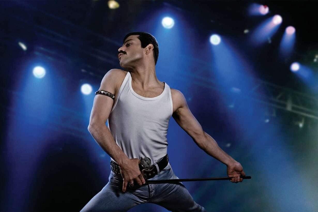 """« J'étais très conscient de ne jamais faire une imitation"""", confie l'acteur Rami Malek qui a étudié la gestuelle de Freddie Mercury pour mieux se glisser dans sa peau."""