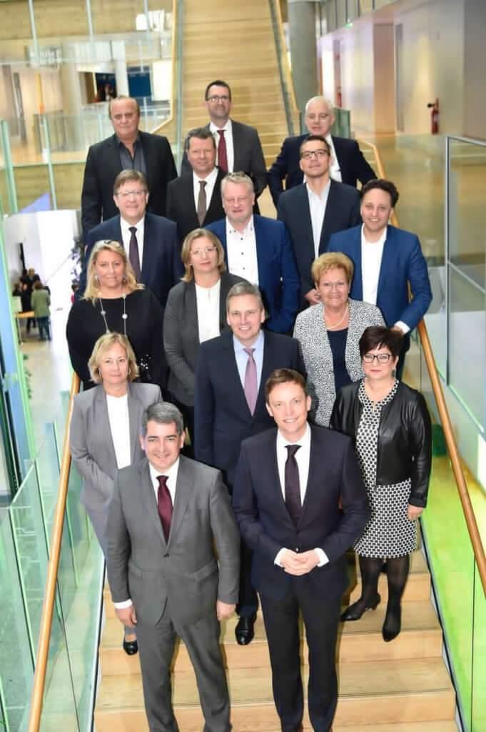 Accueil délégation sarroise àla Maison de la Région de Strasbourg (Stadler_Région Grand Est)