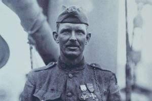 Le soldat Alvin Cullum York (capture du film de NomadesTV)