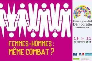 Hommes/femmes: même combat? (Affiche)