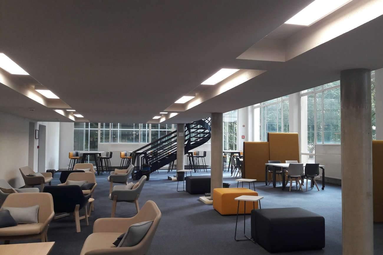 Les nouveaux locaux de la bibliothèque universitaire de Metz (Photo Université de Lorraine)