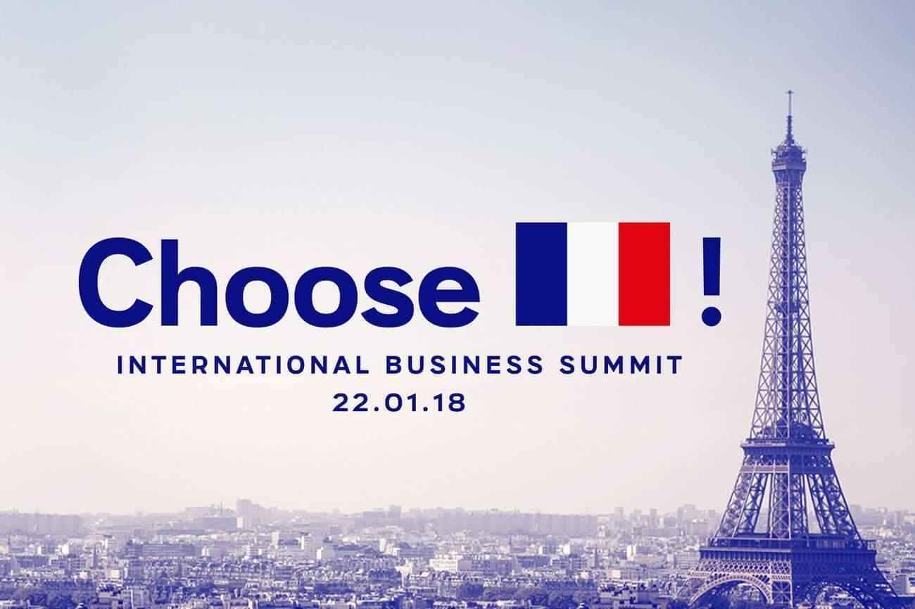Sommet Choose France du 23 janvier 2018 (image LREM)