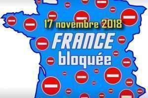 La France bloquée le 17 novembre 2018 (Facebook)