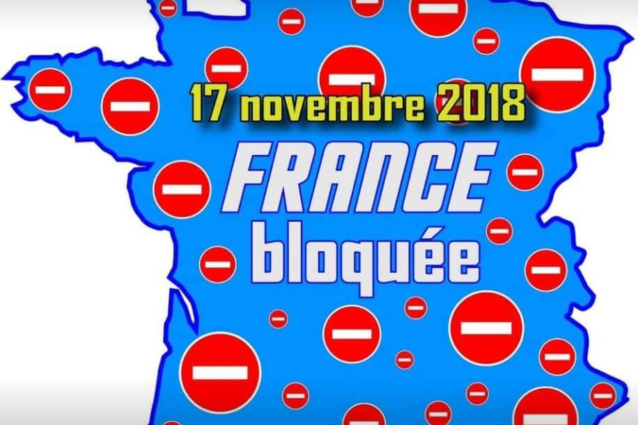 Carte Blocage 17 Novembre Bourgogne.Gazole La France Paralysee Le 17 Novembre