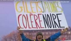 Manif des Gilets jaunes (capture EuroNews)