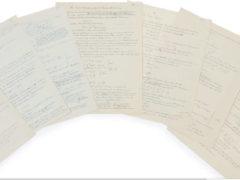 Albert Einstein, « Altes und Neues zur Feld-Theorie », manuscrit autographe signé, Berlin, vers 1929 (COLLECTIONS ARISTOPHIL)
