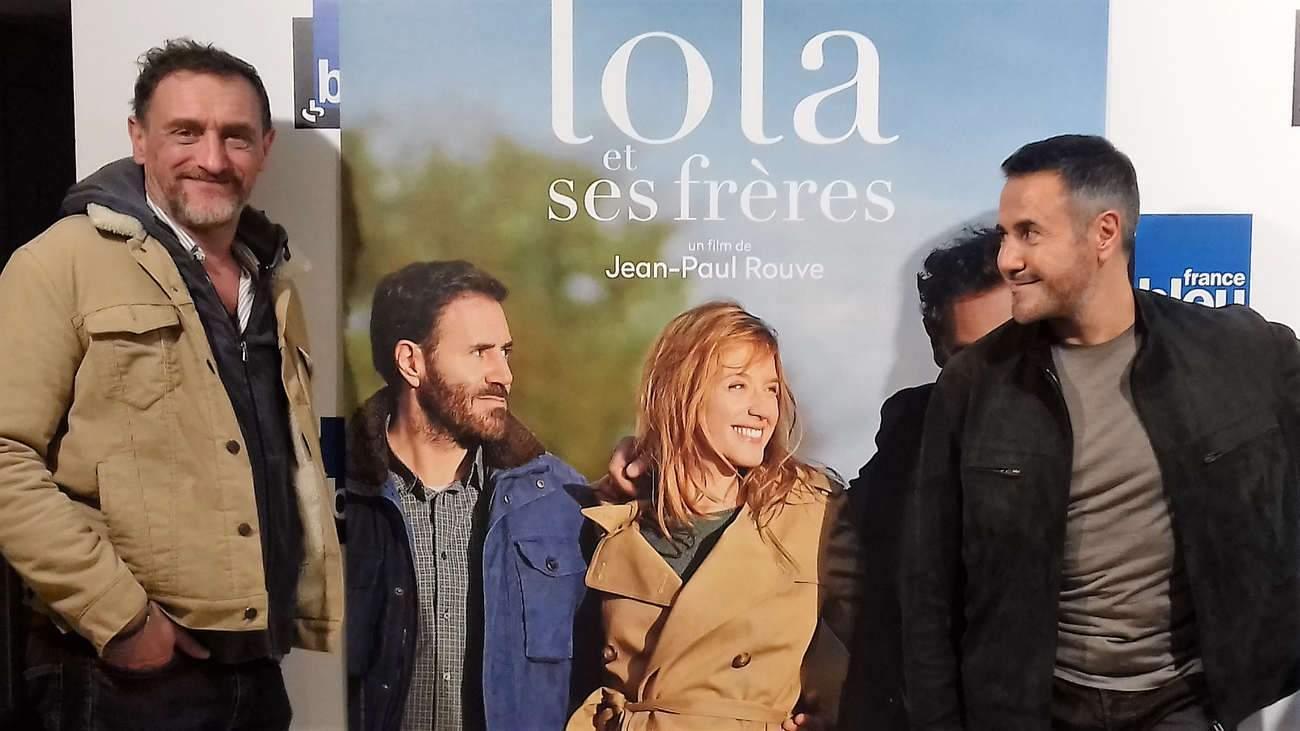Jean-Paul Rouve et José Garcia, lors de l'avant-première du film à Ludres, près de Nancy.