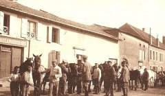 Troupes allemandes dans le village de Conflans-en-Jarnisy (Meurthe-et-Moselle) Norbert Antoine/Geneanet, CC BY-NC-SA