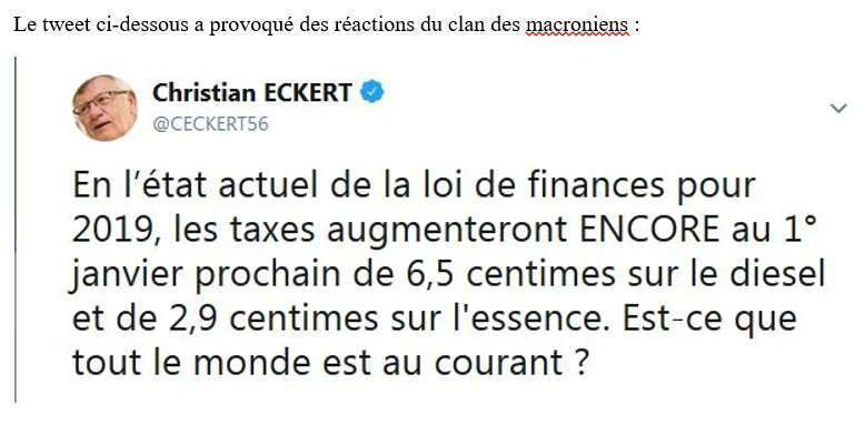 tweet de Christian Eckert