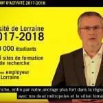 Pierre Mutzenhardt, président de l'université de Lorraine (capture vidéo UL)