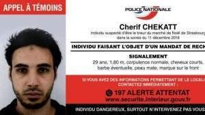 Appel à témoins de l'attaque de Strasbourg