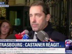 Le ministre de l'Intérieur réagit à la fusillade de Strasbourg (capture BFM TV)
