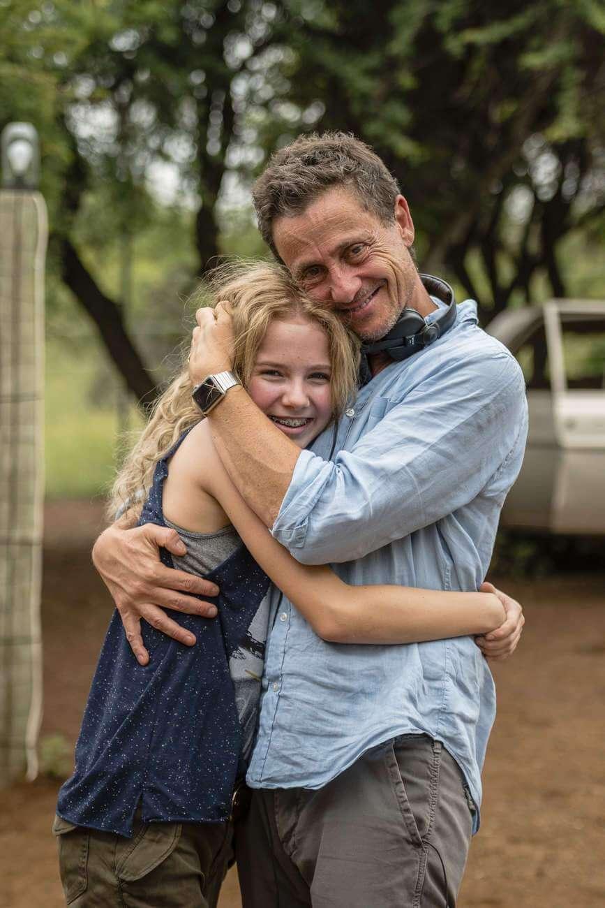Daniah de Villiers avec Gilles de Maistre : « Ce qu'a fait Daniah est un énorme travail, j'aurais été incapable de le faire », assure le réalisateur.