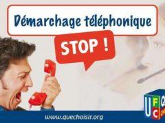 Stop au démarchage téléphonique (UFC-Que-Choisir)