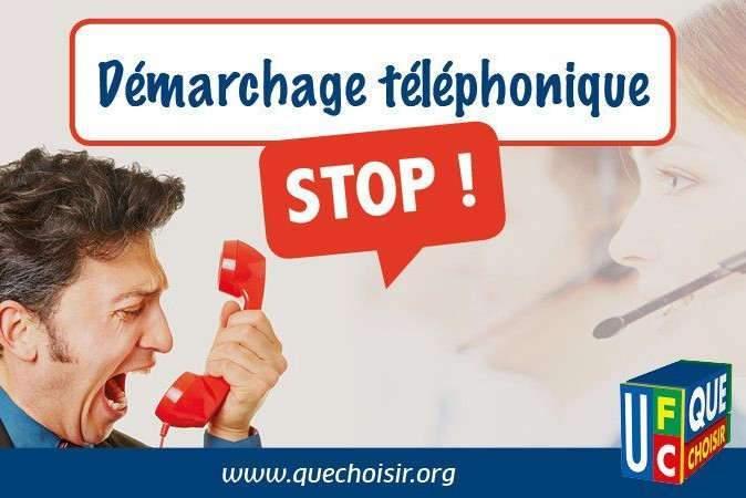 Pétition pour interdire le démarchage téléphonique