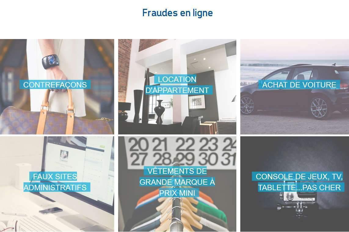 Fraudes en ligne, ce qu'il faut savoir (Centre européen des consommateurs-France)