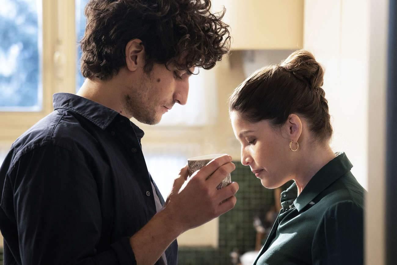 Le couple Garrel et Casta dans « L'homme fidèle ». « Ça ne s'arrêtait jamais entre le plateau et la maison, jamais », dit l'actrice.