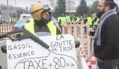 L'augmentation du gazole à l'origine de la révolte des Gilets jaunes (capture Euronews)