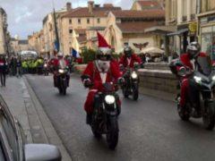Les motards ont défilé avec les Gilets jaunes (DR)