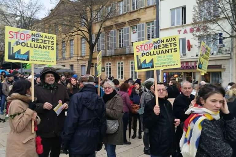 Marche pour le climat à Metz