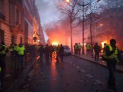 Samedi 1er décembre 2018, manifestations dans Paris (Photo DR)