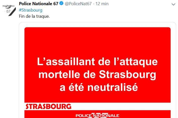 Strasbourg : Cherif Chekatt abattu par la police