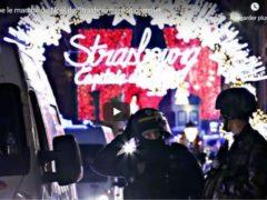 attentat près du marché de Noël de Strasbourg (Capture euronews)