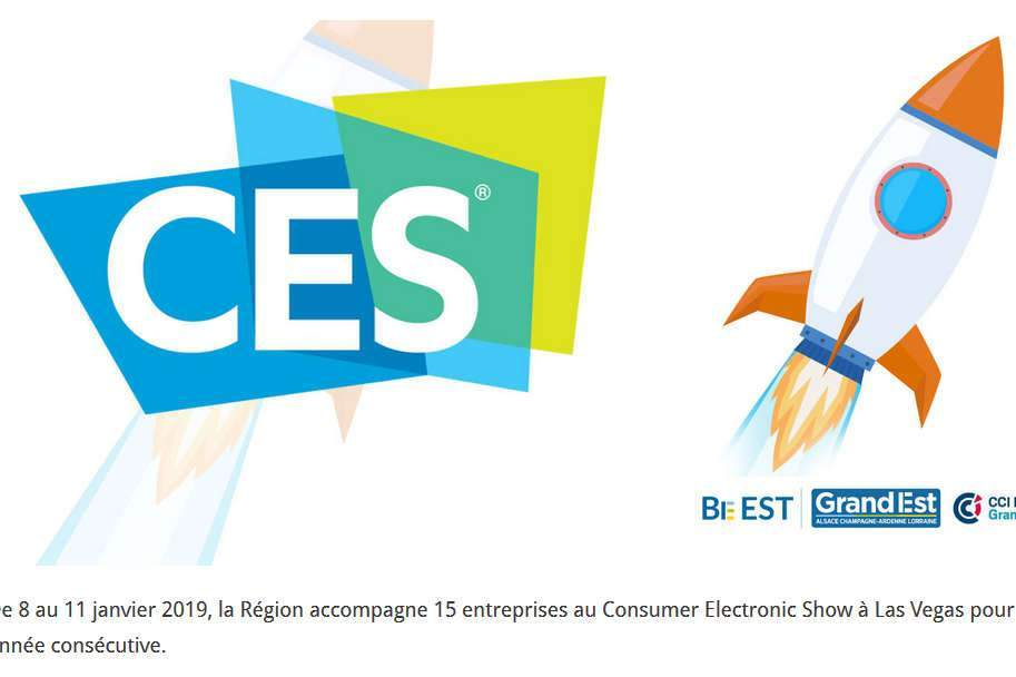 CES Las Vegas (logo région grand est)
