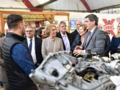 Signature du Plan régional d'Investissement en présence de Muriel Pénicaud, ministre du Travail (Photo Stadler RGE)