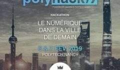 Hackathon du Polytech Nancy (affiche)