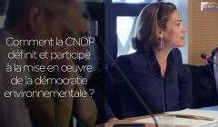 Chantal Jouanno, présidente de la Commission nationale du débat public (CNDP) capture ITW CESE