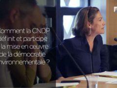 Chantal Jouanno, présidente de la Commission nationale du débat public (CNDP) capture ITW CESE