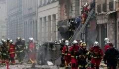 Deux pompiers tués dans une explosion due au gaz à Paris (capture euronews)